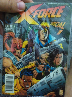 X-force Especial N°1 Hq Ano 1996.