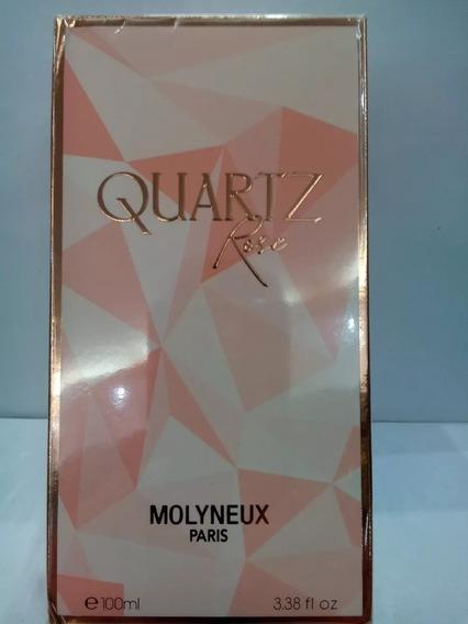 Perfume Feminino Quartz Rose Molyneux 100ml Original Promoção E Frete Gratis