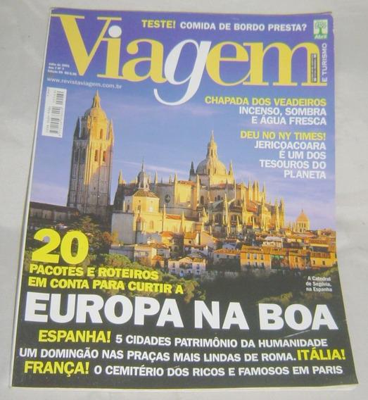 Revista Viagem E Turismo - Edição 69 - Europa - Julho/2001
