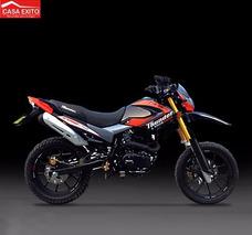 Moto Thunder Trs 250 C.c. Sm/naranja-negro/ Negro-rojo/2016