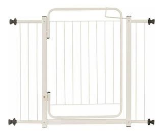 Portão Pet Grade De Segurança Para Porta Bebe Caes 94 A 99cm