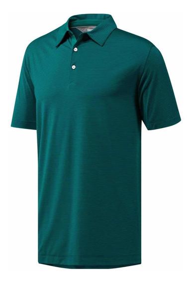 Playera Polo adidas Adipure (talla L) 100% Original Hombre V
