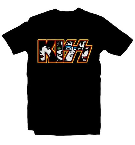 Playeras Kiss Rock - 9 Diseños Disponibles
