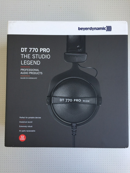 Headphone Beyerdynamic Dt-770 32 Ohm - Fone Professional