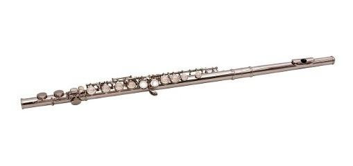 Flauta Traversa Parquer Custom En Do Cerrada Mi Partido