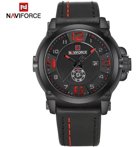 Relógio Masculino Naviforce Frete Grátis Com Caixa Funcional