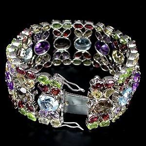 Promoção!!!bracelete Autenticas Brasileiras Em Prata!!