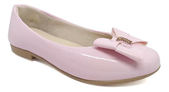 Sapatilha Infantil Menina 28 A 34 Sapato Laço Promoção 676