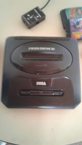 Mega Drive 3 + 2 Jogos De Brinde