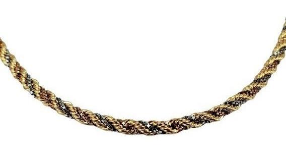 Barato! Colar Cordão Luxo Especial Ouro 18k 45cm - 1992