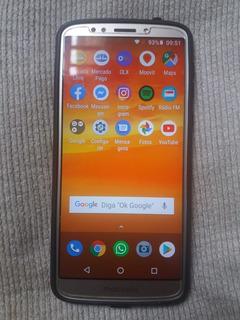 Celular Moto E5 Plus 16gb Excelente Estado Bateria 5000mah
