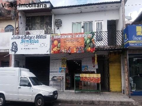 Vendo Um Ponto Comercial No Térreo, Com 02 Apartamentos No Piso Superior, Na Rua Principal Do Bairro Santo Agostinho - Pt00062 - 32233091