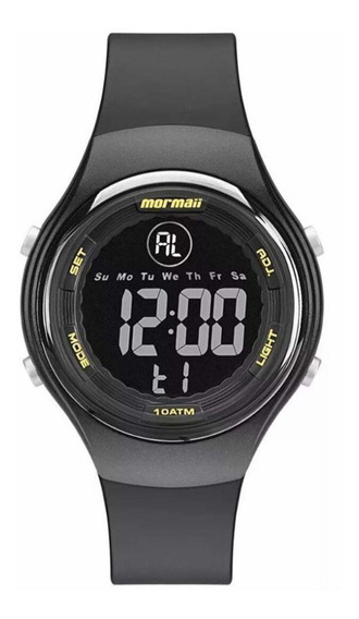 Relógio Masculino Digital Preto Esportivo Mormaii