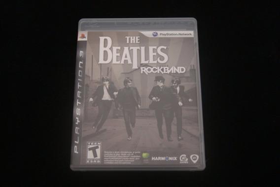 Jogo Ps3 - The Beatles Rockband