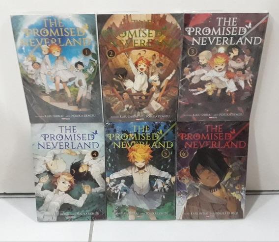Mangá Promised Neverland 1 Ao 6 - Completo - Lacrado