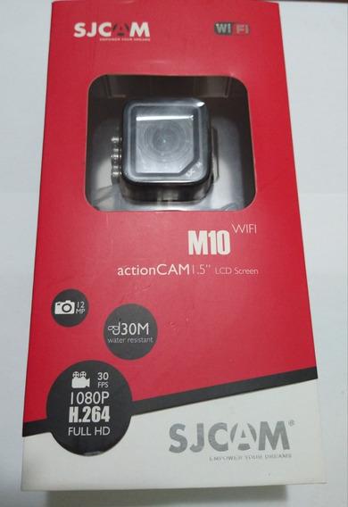 Câmera Sjcam M10 Com Wifi Duas Baterias Extras + Carregador