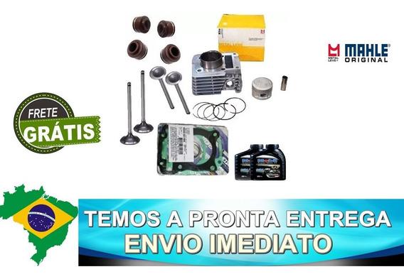 Kit Cilindro Motor Valvula+retentor+oleo Cb/xre300 Metalleve
