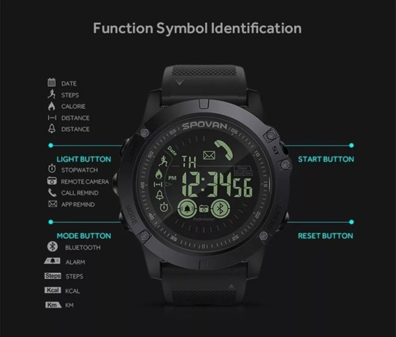 Relógio De Pulso Smartwatch Zeblaze Vibe 3 Bluetooth Digital