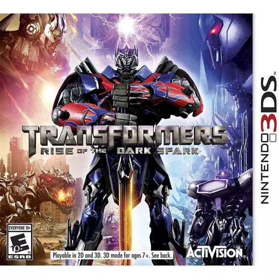 Transformers : Rise Of The Dark Spark Nintendo 3ds Lacrado