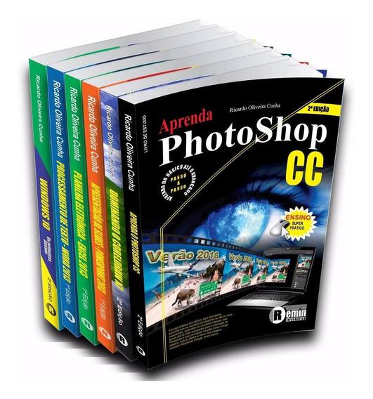 Livro Windows, Word, Excel, Powerpoint, Coreldraw, Photoshop