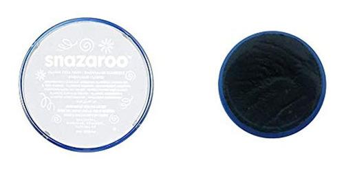 Snazaroo Classic Face Paint, 18ml, Negro & Snazaroo Classic