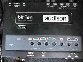 Audison Bit Ten + Rcas Sonus + Cabos Sq