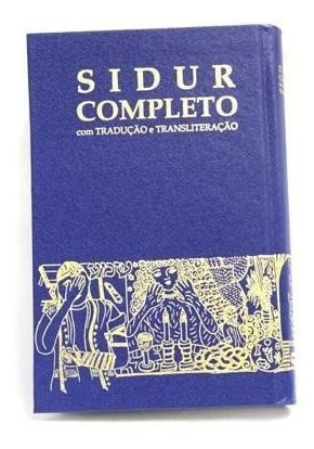 Sidur Completo - Livro De Orações Judaicas - Original