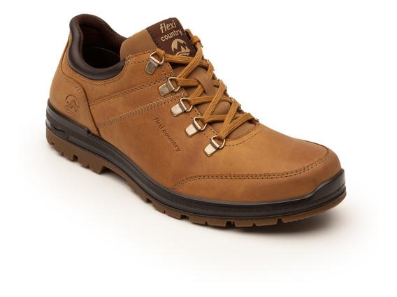 Zapato Flexi Country Outdoor Caballero 92107 Honey