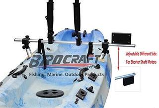 Brocraft Kayak Motor Con Soporte En Aleación De Acero