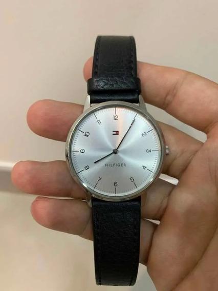 Relógio Tommy Hilfiger De Couro Original