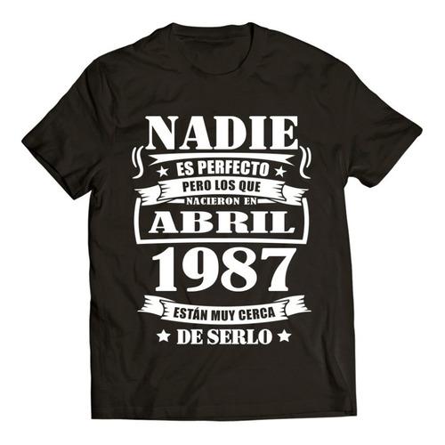 Imagen 1 de 8 de Nadie Es Perfecto / Playera Regalo / Cumpleaños