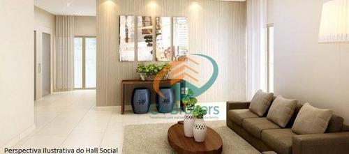 Apartamento Com 3 Dormitórios À Venda, 103 M² Por R$ 700.000,00 - Vila Galvão - Guarulhos/sp - Ap1765