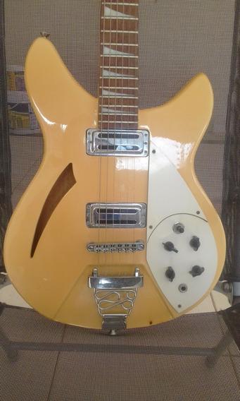 Guitarra Groovin Rickenbacker (celular Semi Acústica Troca)