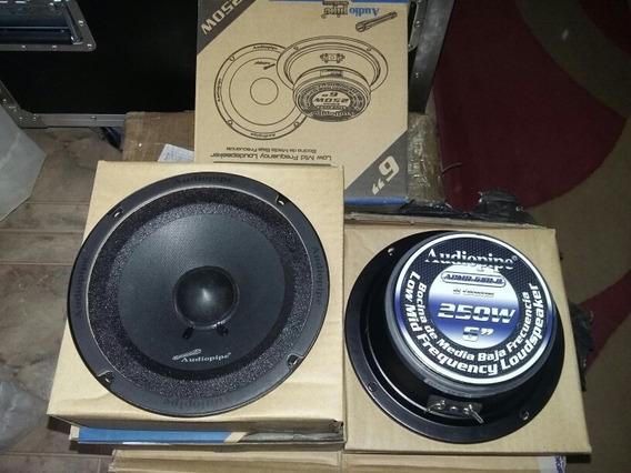 Parlante 6 Audiopipe 250w Apmb 6sb B