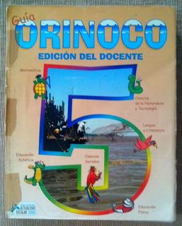 Libro Escolar Guía Orinoco 5 Enciclopedia