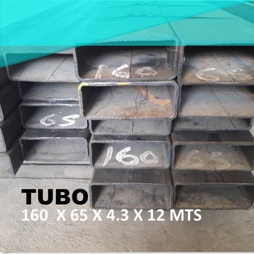 Tubo Estructural 160x65x4.3x12mts