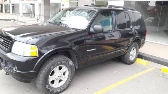 Ford Explorer Xlt, 4x4, Ta, 2006, Negro, 3 Filas
