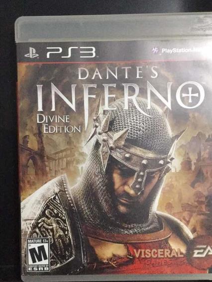 Jogo Dante Inferno Ps3