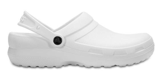Zapato Doctores, Chef, Dentistas, Crocs Specialist Ii Blanco