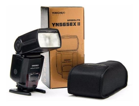 Flash Yongnuo 565 Ex Iii Speedlite Para Canon Retira Loja