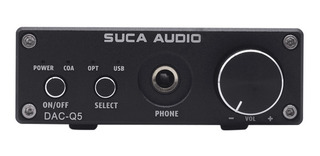 Suca Dac-q5 Auriculares Amplificador De Audio Digital Hifi