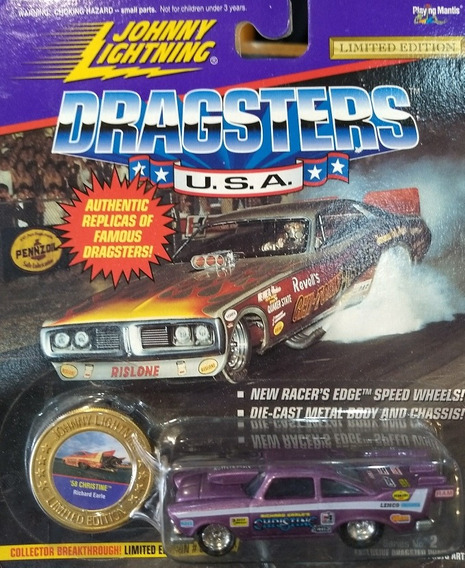 Auto 58 Christine Johnny Lightning Dragsters Coleccion Rdf1