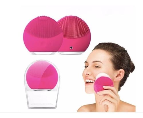 Imagen 1 de 3 de Limpiadora Y Masajeadora Facial Eléctrica Recargable