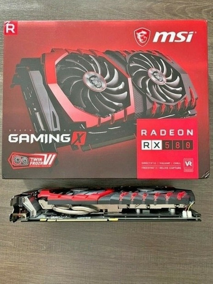 Placa De Video Rx 580 8gb Msi Gaming Como Nueva