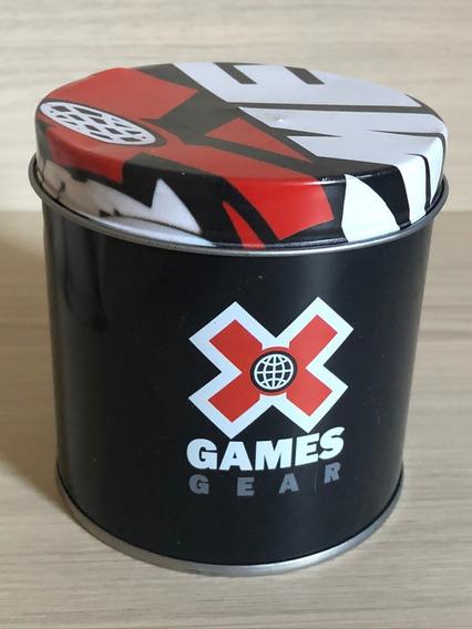 Relogio X-games Xkppd067 - Preto/vermelho Original