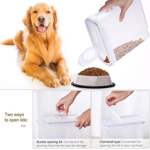 Imagen 1 de 1 de Alimento De Animal Doméstico Contenedor Apilable Tiene 40 L