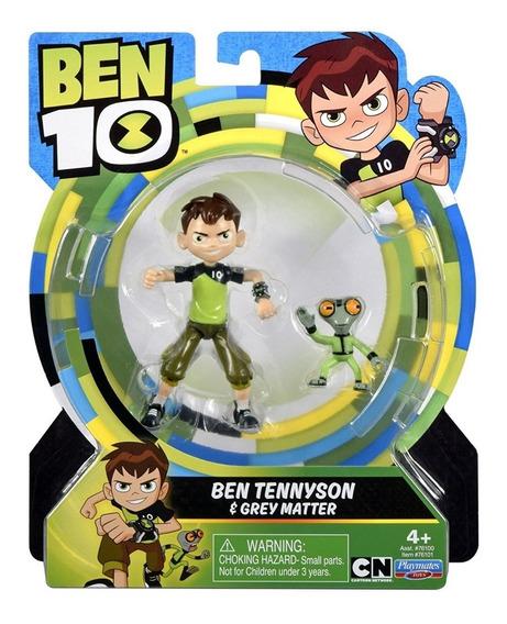 Ben Tennyson & Crey Matter Figura De Ação 12cm Ben 10 #76101