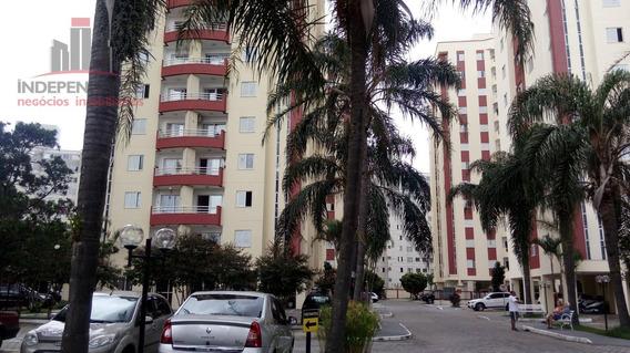 Apartamento Com 2 Dormitórios À Venda, 66 M² Por R$ 270.000,00 - Conjunto Residencial Trinta E Um De Março - São José Dos Campos/sp - Ap2911