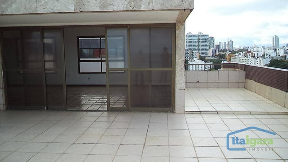 Cobertura Residencial Para Locação, Rio Vermelho, Salvador. - Co0037