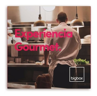 Cena Gourmet Para Dos Regalos Bigbox